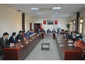 Başkan Toltar, Birim Müdürleri İle Bir Araya Geldi
