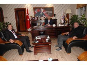Hanönü Belediye Başkanı Uçar; Tosya Belediye Başkanı Şahin'i Ziyaret Etti