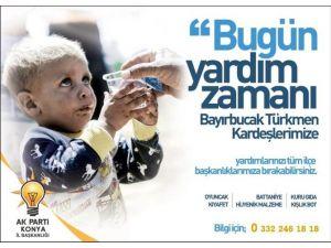AK Parti Teşkilatları Bayır-bucak Türkmenleri İçin Yardım Kampanyası Başlattı
