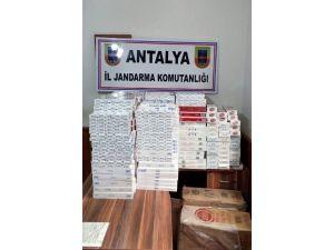 Alanya'da 5 Bin Paket Kaçak Sigara Ele Geçirildi