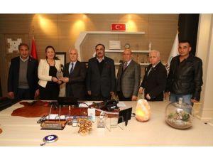 Azerbaycan Kültür Derneği'nden Bozbey'e Teşekkür