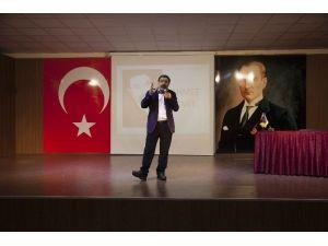 Yazar Ahmet Ümit Gaziantep Kolej Vakfı Özel Okullarında