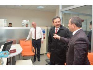 Milletvekili Yılmaz Başkan Karabacakı Ziyaret Etti