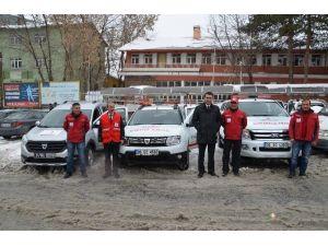 Kızılay Muş Şubesi'ne Gönderilen Araçlar Tanıtıldı