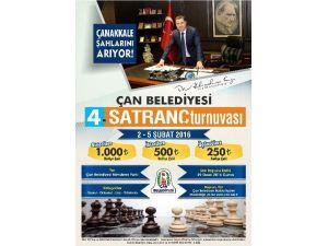 Çan Belediyesi 4. Satranç Turnuvaları Başvuruları Başladı