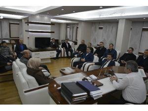AK Parti'den Başkan Anlayan'a Nezaket Ziyareti