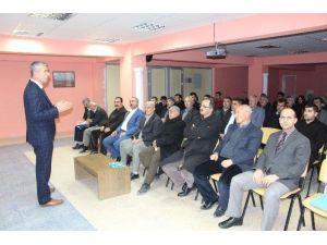 Samsat'ta Sosyal Hizmet Toplantısı Yapıldı