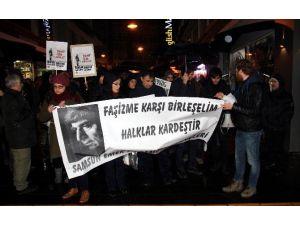 Samsun'da Hrant Dink Eyleminde Gerginlik