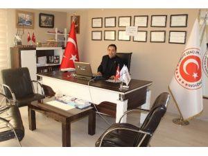 Tgsk Karşıyaka İlçe Başkanı Sedat Fikret Yıldız Oldu