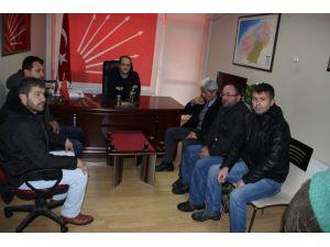 Köy dolmuşçuları CHP'den kendilerine destek istedi