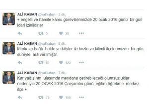Zonguldak'ta Eğitime Bir Gün Ara Verildi