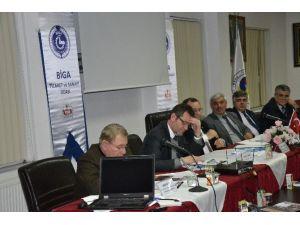 Biga Sivil Toplum Platformu Toplantısı Yapıldı