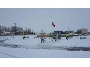 Bünyan Belediyesi Karla Mücadele Çalışmalarını Sürdürüyor