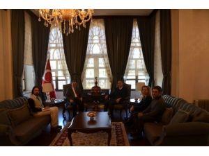 UNICEF Türkiye Başkanı Philippe Duamelle'den Valiliği Ziyaret Etti