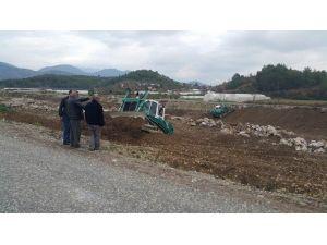 Gazipaşa'da Dereler Islah Ediliyor