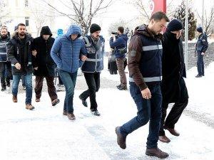 Erzurum merkezli soruşturmada 12 emniyet mensubu adliyeye sevk edildi