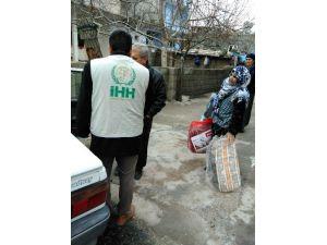İHH Tut İlçe Gönüllüleri, Gölbaşı İlçesinde Yardımda Bulundu