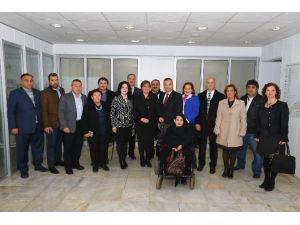 Konak CHP'den Başkan Pekdaş'a Ziyaret