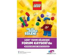 Forum Kayseri'de Çocuklar 'Lego'lardan Kendi Dünyalarını Kuracak