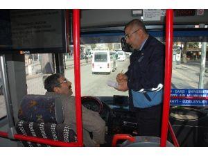 Yolcu Otobüsleri Ve Minibüsleri Denetleniyor