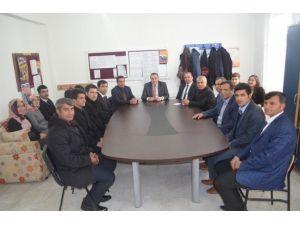 Karaköy Köyünde Eğitim Değerlendirme Toplantısı