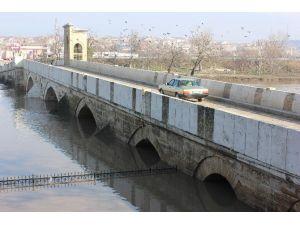 Edirne'de Taşkın Riski Ortadan Kalktı