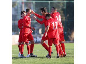 U16 Milli Futbol Takımı'nın son maçı Çek Cumhuriyeti ile