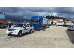Ünye'nin Yardımları Türkmenlere Ulaştı