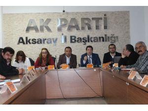 Aksaray'da AK Parti Yönetim Kurulu Toplantısı Yapıldı