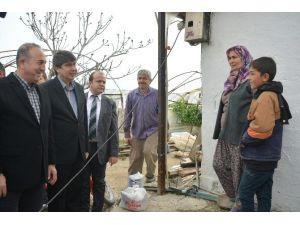 Bakan Çavuşoğlu'ndan Hortumdan Zarar Gören Çiftçilere Müjde: