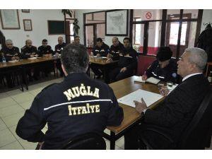 İtfaiye Amirleri Toplantısı Menteşe'de Yapıldı