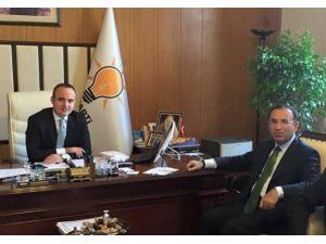 Adalet Bakanı Bozdağ Turan'ı Ziyaret Etti
