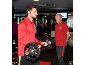 Galatasaray'da Osmanlıspor maçının hazırlıkları başladı
