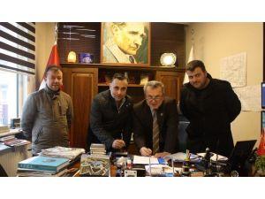145 İşçi İçin Sözleşme İmzalandı