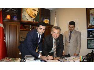 Çaycuma Belediye Kompleksinin Sözleşmesi İmzalandı