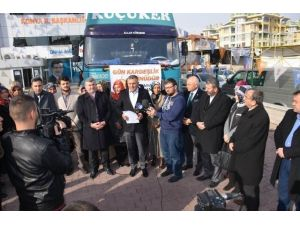 AK Parti Konya'dan Diyarbakır Ve Şırnak'a Kardeşlik Eli