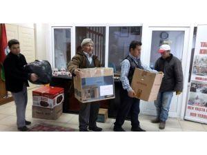 Gediz Halk Eğitimi Merkezi'nden Bayırbucak Türkmenleri'ne Destek