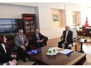 Kılıçdaroğlu, SODEM Yönetim Kurulu Üyeleriyle Görüştü