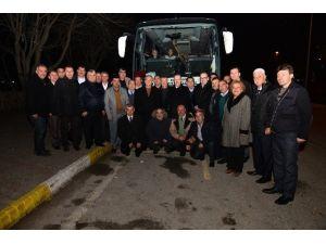 Başkan Kafaoğlu Muhtarları Ankara'ya Uğurladı
