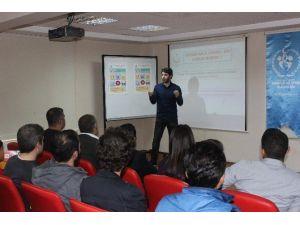 Şanlıurfa Gençlik Merkezi Veremle Savaş Eğitimi Haftası Semineri Düzenledi