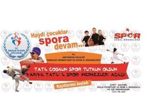 Öğrenciler Tatil Coşkusunu Sporla Yaşayacak