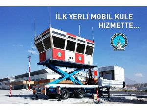 Yerli mobil hava trafik kontrol kulesi hizmette