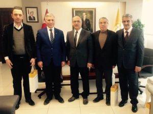 MÜSİAD Elazığ Şubesi, İnönü Üniversitesi'ni Ziyaret Etti