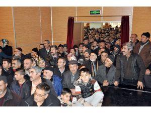 Emeklilerin Kura Heyecanı Salona Sığmadı