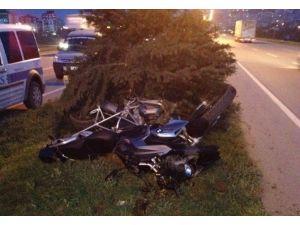 Motosikletli Yunus Polisi Kazada Yaralandı