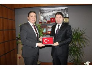 Bartın TSO'dan Milletvekili Tunç'a Ziyaret