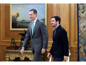 İspanya Kralı ile görüşen solcu lider: Biz cumhuriyet istiyoruz