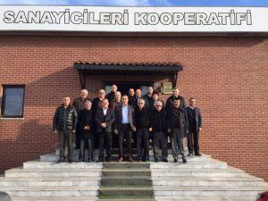 Milletvekili Ceylan Toprak Sanayiciler Kooperatifini Ziyaret Etti