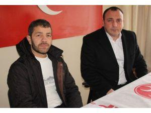 Köy Minibüsü Şoförleri MHP'yi Ziyaret Etti