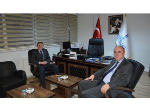 Poyraz'dan Teski Genel Müdürü Başa'ya Ziyaret
